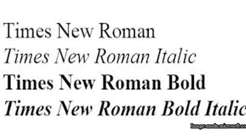 In Praise of Times New Roman
